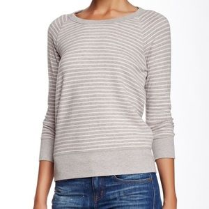 STANDARD JAMES PERSE / STRIPED LONG SLEEVE TOP